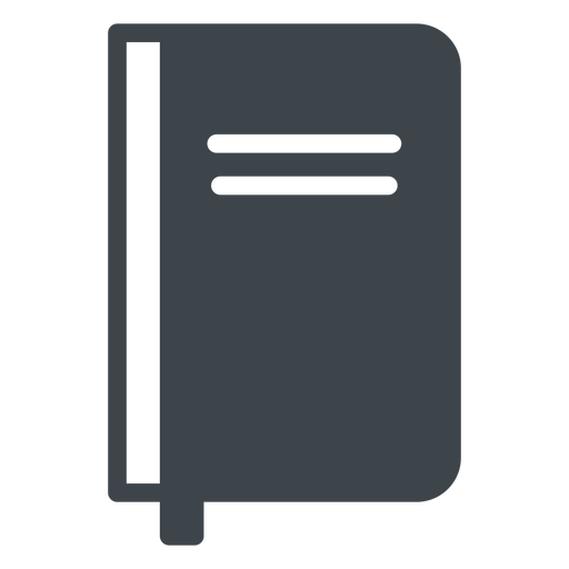 Notebook flat school icon Transparent PNG
