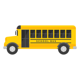 School bus vehicle illustration