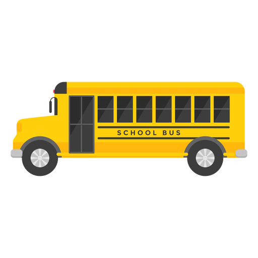 School bus vehicle illustration Transparent PNG