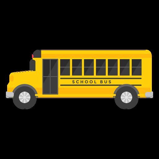 School bus vehicle illustration