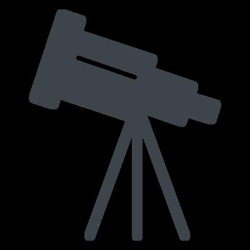 Telescope flat school icon