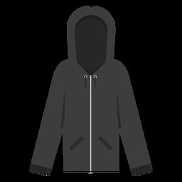 Zip hoodie icon