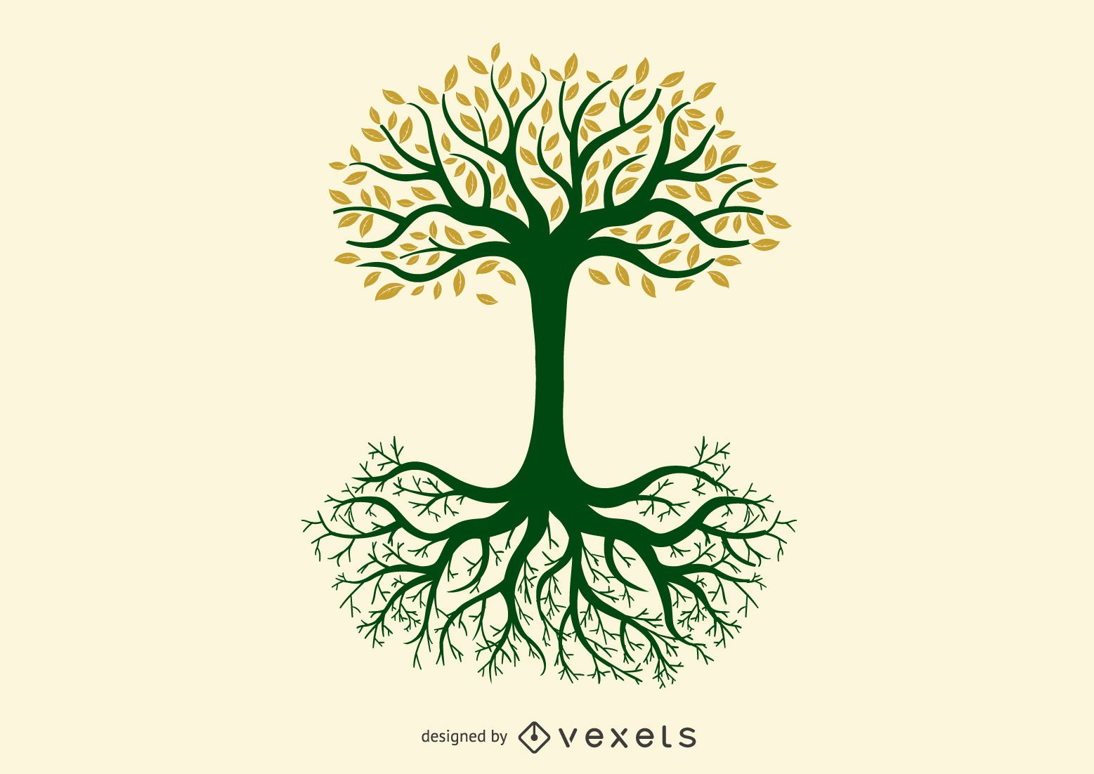 Tree of Life Yggdrasil Norse Graphic Design