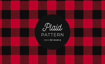 Buffalo Plaid Pattern Grafikdesign