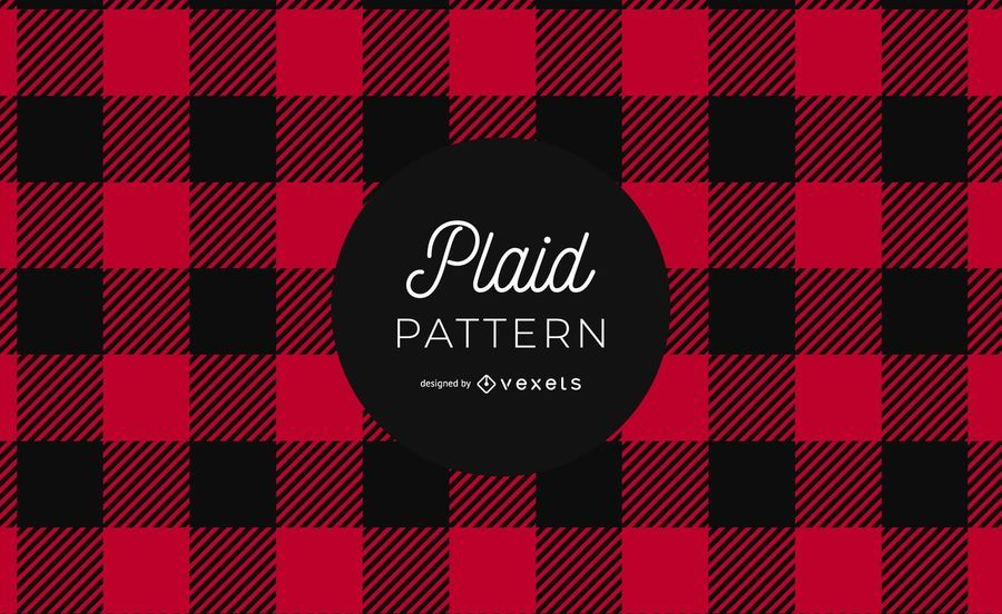 Buffalo Plaid Pattern Design Gráfico
