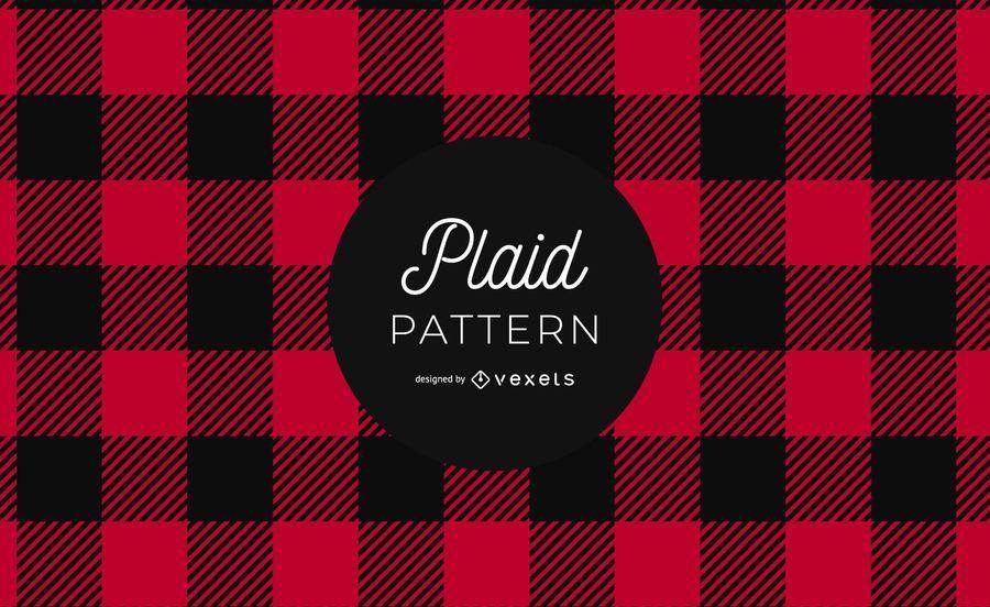 Buffalo Plaid Pattern Grafikdesign