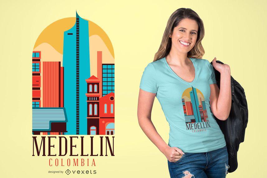 MEDELLIN COLOMBIA T-SHIRT DESIGN