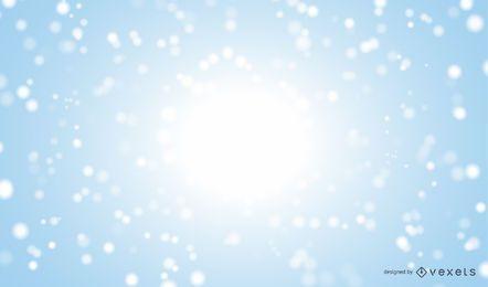 Fondo de invierno de nieve realista