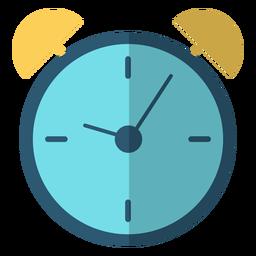 Ilustración de golpe de reloj de alarma