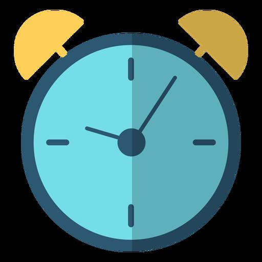 Alarm clock stroke illustration Transparent PNG