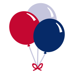 American balloons design element