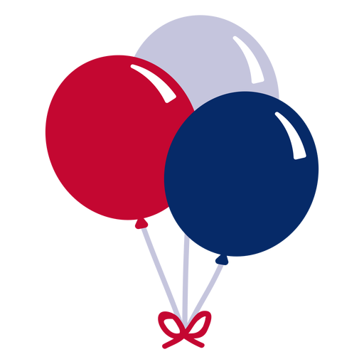 American balloons design element Transparent PNG