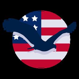 Elemento de diseño de águila americana