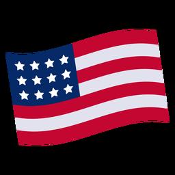 Elemento de design da bandeira americana