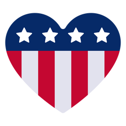 American heart design element