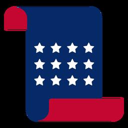 Elemento de letra americana