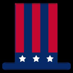Elemento de diseño de sombrero de copa americano