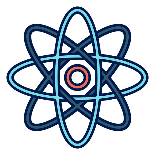 Ícone da escola átomo Transparent PNG