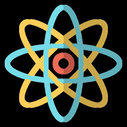 Ilustração da escola do átomo Transparent PNG