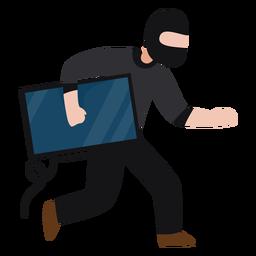 Monitor de robo de personajes bandidos