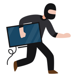 Monitor des Bandit-Charakters