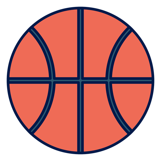 Basketball ball school icon Transparent PNG