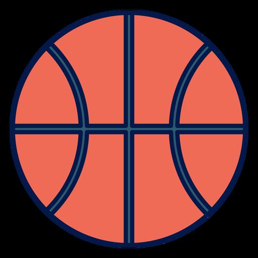 Icono de la pelota pelota de baloncesto Transparent PNG