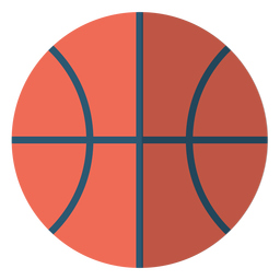 Basketball ball school illustration