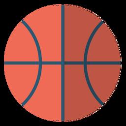 Ilustração de escola de bola de basquete