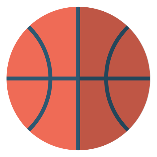 Basketball ball school illustration Transparent PNG