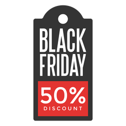 Black friday discount price tag