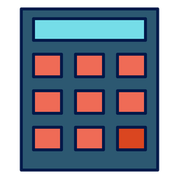 Calculator school icon
