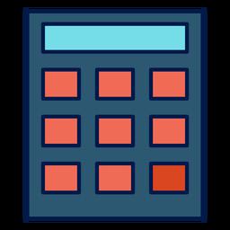 Icono de la escuela calculadora