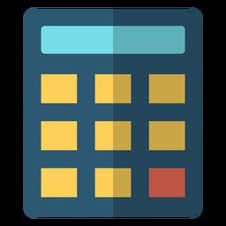Ilustração de escola de calculadora