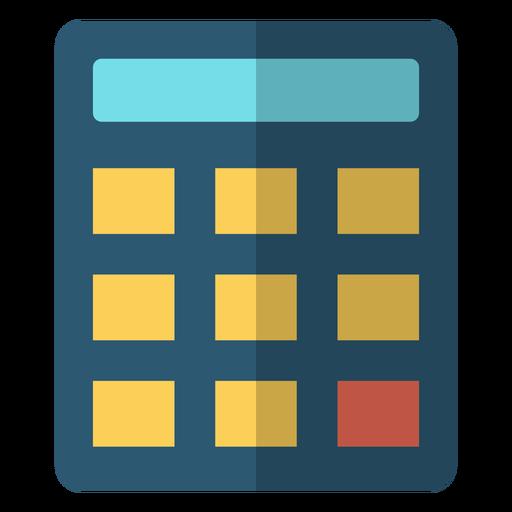 Ilustração de escola de calculadora Transparent PNG