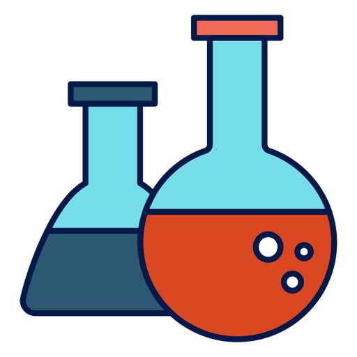 Chemistry flask icon Transparent PNG