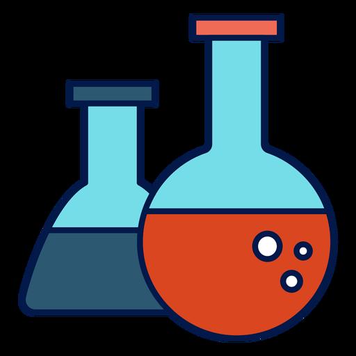 Icono de matraz de química Transparent PNG
