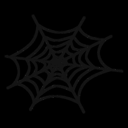 Cobweb hand drawn Transparent PNG