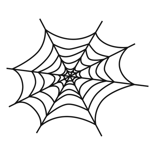 Cobweb hand drawn
