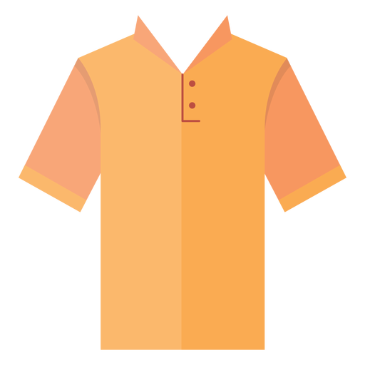 Collar henley t shirt icon Transparent PNG