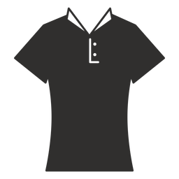 Collar t shirt flat icon