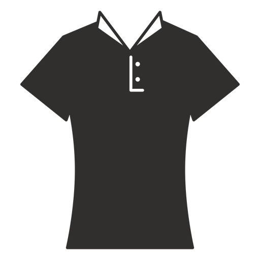 Collar t shirt flat icon Transparent PNG