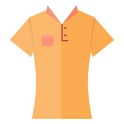Collar t shirt icon