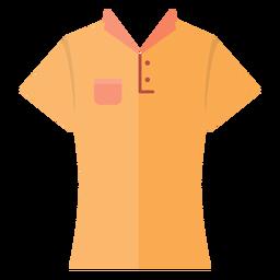 Ícone de camisa de colarinho t