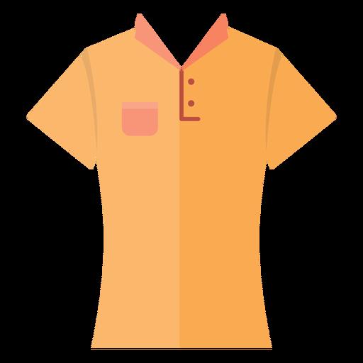 Collar t shirt icon