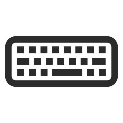 Computer keyboard stroke icon Transparent PNG