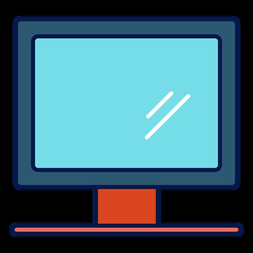 Icono de la escuela monitor de la computadora Transparent PNG