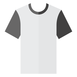 Crew neck t shirt icon