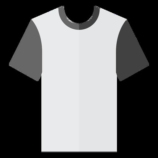 Crew neck t shirt icon