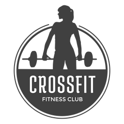 Logotipo del club de fitness Crossfit